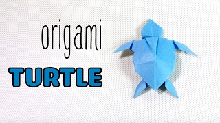 Origami Turtle step by step