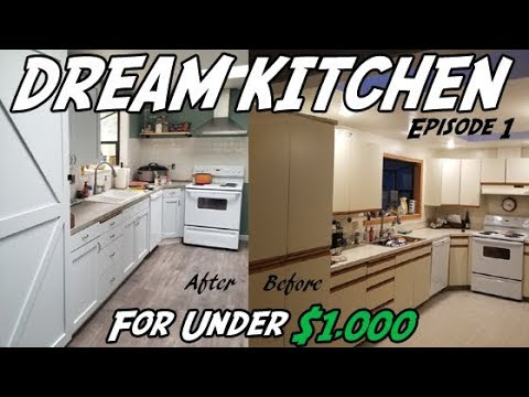 Diy Kitchen Demolition How To Remodel Your On A Budget Episode 1