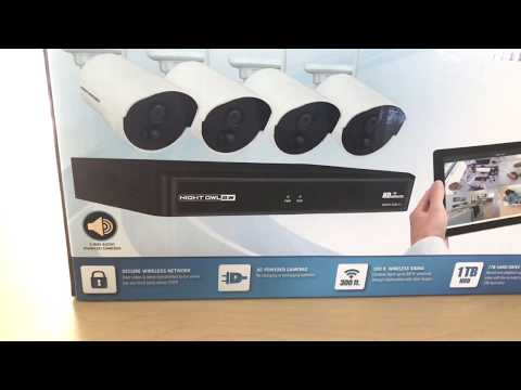 Night owl x hd app Review..security cams 1080 hd infrared