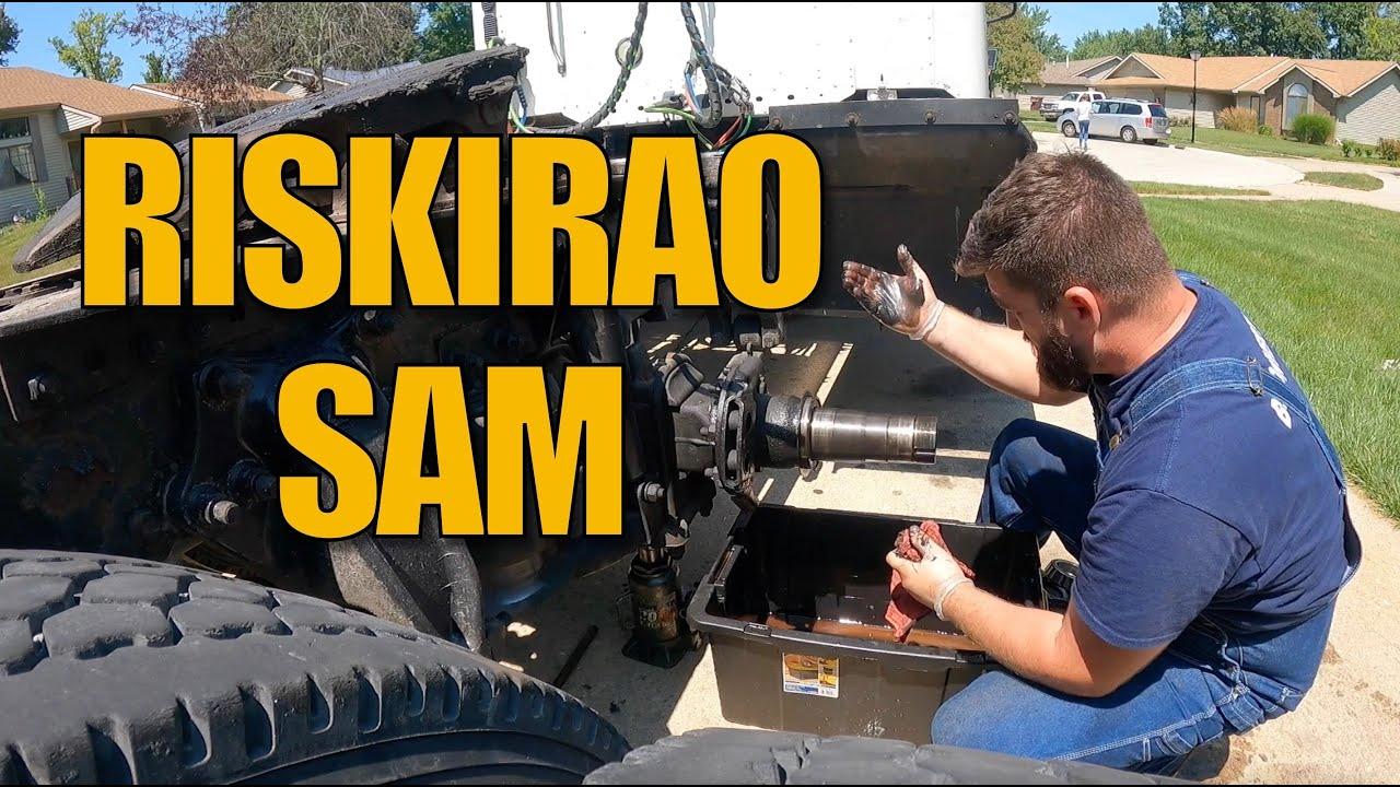 Kamion King - Promjena semeringa i ležaja na kamionu (Tutorial)