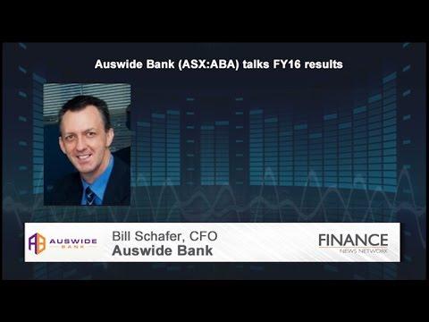 Auswide Bank Ltd (ASX:ABA) Talks FY16 Results