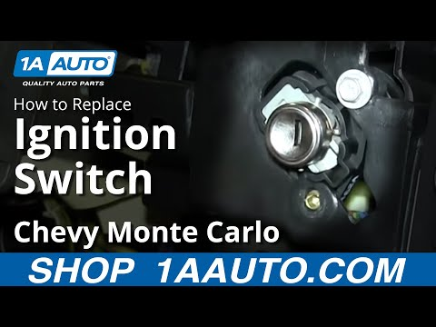 How To Replace Install Ignition Switch 00 05 Chevy Monte Carlo