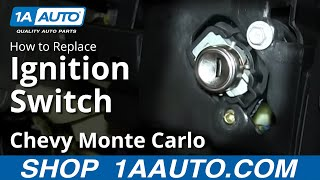 How To Replace Install Ignition Switch 2000-05 Chevy Monte Carlo