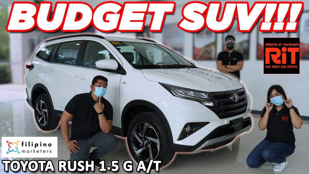 2020 Toyota Rush 1 5 G A T Review Philippines With English Subtitles Youtube