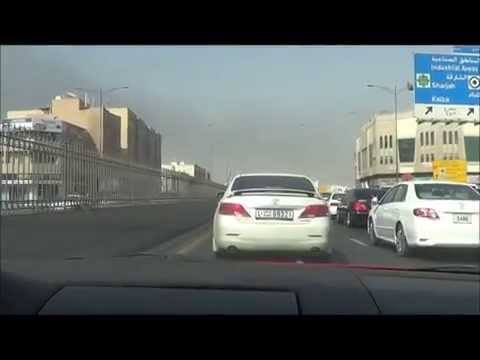 My daily driving route from Dubai to Ajman