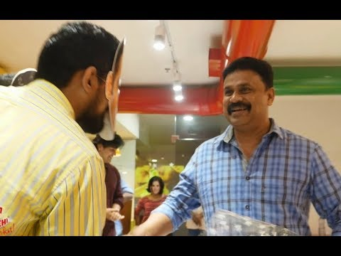 Actor Dileep gets a Surprise !