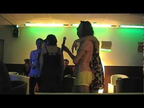Granger Danger at the karaoke bar !