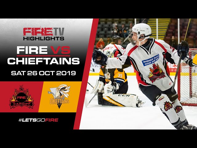 Cardiff Fire 1 v Chelmsford Chieftains 26/10/19