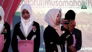 """Lagu perpisahan  yang menyedihkan """"MID. AL Anwariyyah"""" jing injing blga Bangkalan Madura"""