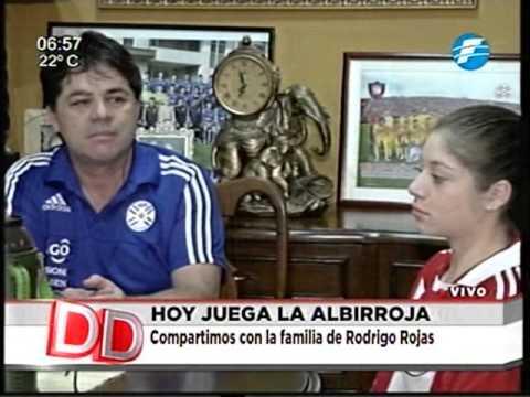 Padres de Rodrigo Rojas nos hablan de los partidos de su hijo por la Albirroja 24/03/16