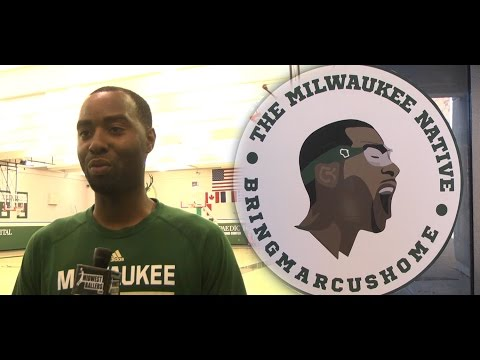 Milwaukee Native Marcus Landry Talks About Playing For His Hometown NBA Team #BringMarcusHome