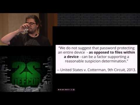 DEF CON 22 - Christopher Soghoian - Blinding The Surveillanc