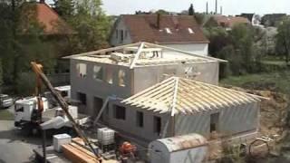 Zeitrafferfilm Hausbau - KfW Effizienzhaus 55