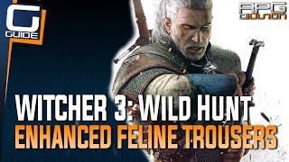 Witcher 3: The Wild Hunt - Enhanced Feline Trousers Diagram Location (Cat School Gear)