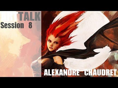 ArtTalk: Session 8 with Alexandre Chaudret