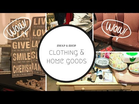 Thrift with Us  ||  Ladies Clothing-Home Goods Haul  || December 9, 2017