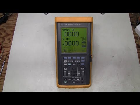 #58 - Fluke 97 ScopeMeter battery upgrade