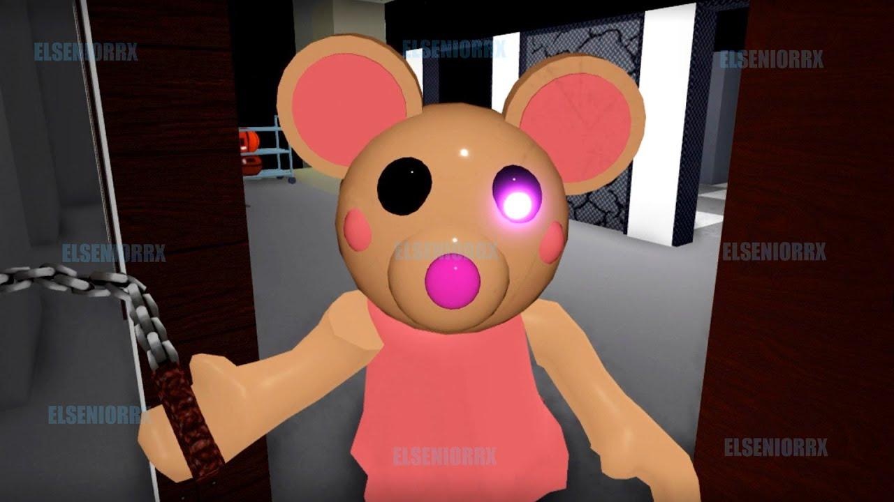 PIGGY ¿ME ENSEÑAS TU CASA? ~ Piggy Build Mode Mandy Skin ~ ELSENIORRX ROBLOX
