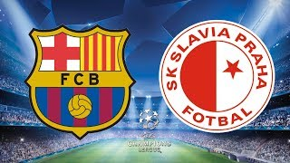 ... barcelona look to make it two wins a row as they welcome slavia praha th...