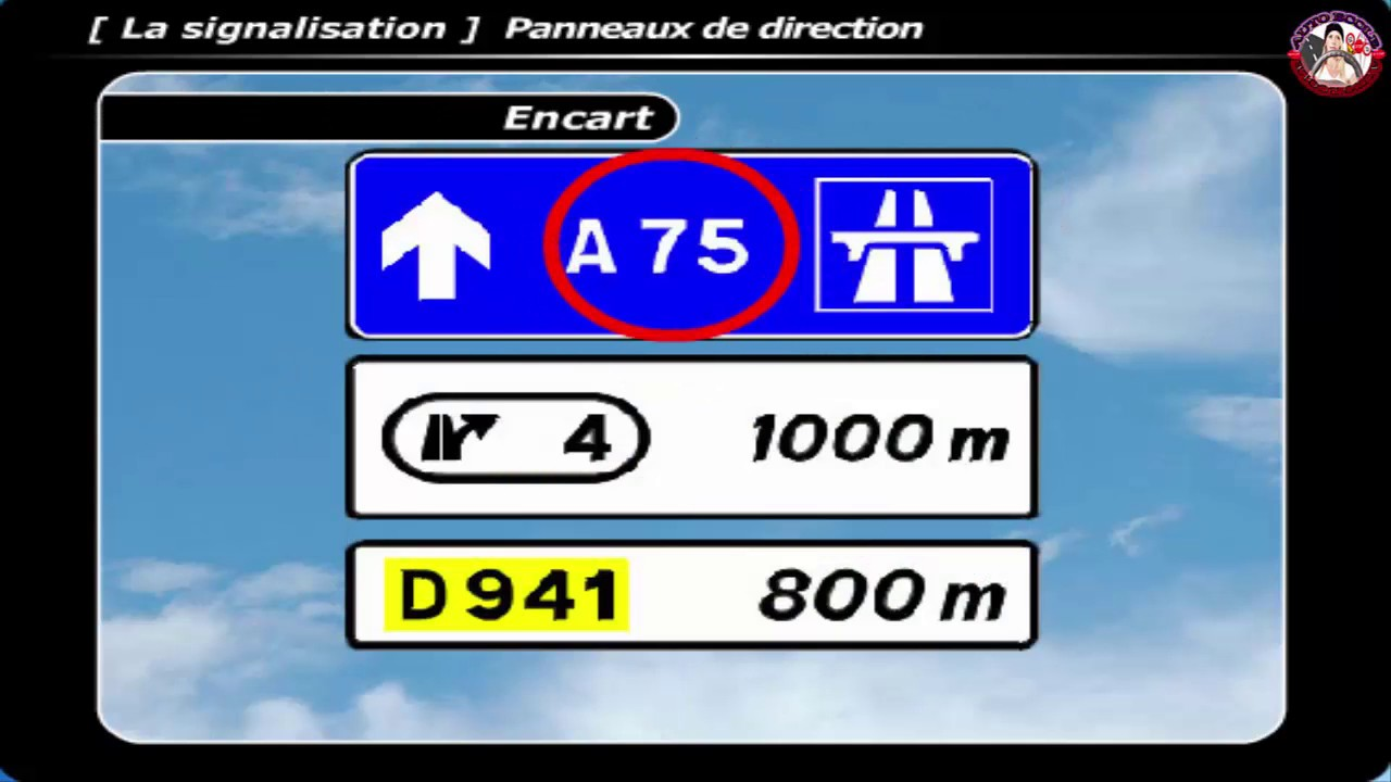 Cours code de la route 👌 leçon # 1️⃣ 💯 😍 La signalisation 2 ️ ®️ - YouTube