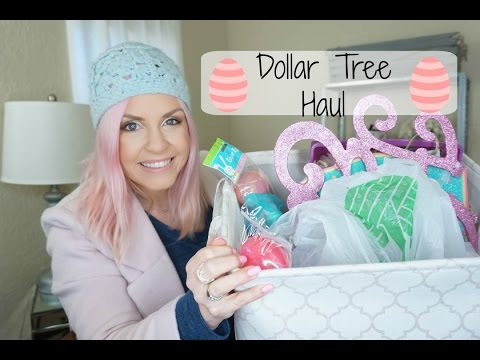 *Dollar Tree Haul| Cute Easter Decor| Megan Navarro| #dollartree