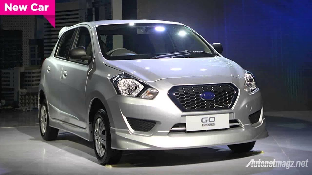 new datsun go panca hatchback 2014 - YouTube