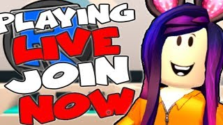 ROBLOX LIVE STREAM !! - Jailbreak, Speed run 4 and much more ! - COME JOIN THE FUN !! - #267