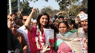 Alka lamba AAP party MLA power..!! Aam admi party   Aravind Kejriwal MLA