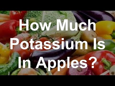 How Much Potassium Is In Apples? - YouTube