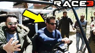 Salman Khan Starts Shooting In Kashmir For Race 3
