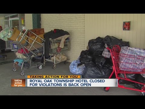Royal Oak Township Hotel Closed For Violations Is Back Open