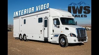 2019 Renegade Classic  Interior - Freightliner Cascadia 113 Chassis - IWS Motorcoaches