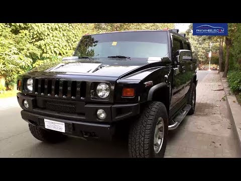 Hummer H2 Price, Specs & Features | PakWheels Diaries