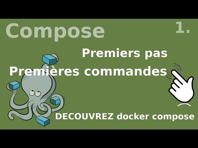 Docker compose - 1. DECOUVERTE et premiers pas