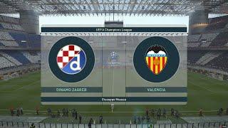 PES 2019 Champions League Final-Dinamo Zagreb vs Valencia