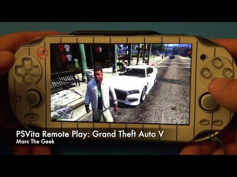 PSVita Remote Play: Grand Theft Auto V