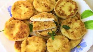Супер вкусные правильные сырники . Классический рецепт .
