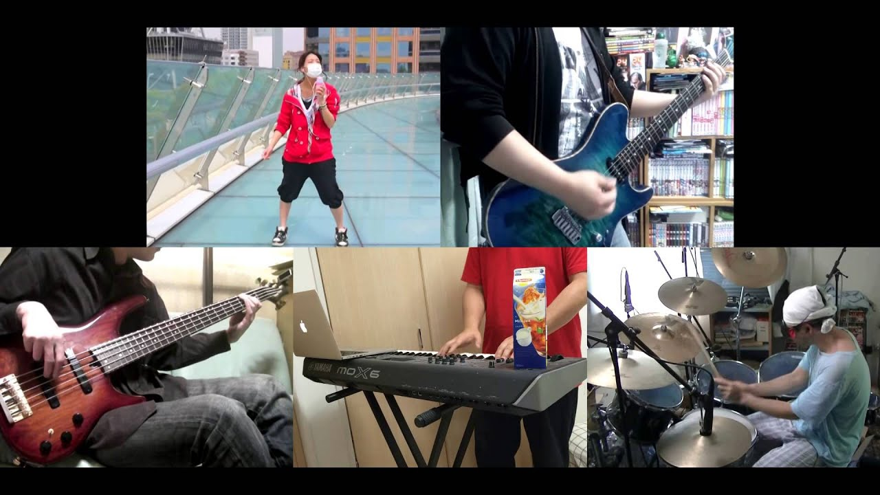 [HD]Gunslinger Stratos OP [vanilla sky] Band cover - YouTube