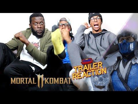Mortal Kombat 11 - Gameplay Reveal Trailer Reaction