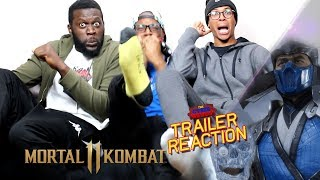 Mortal Kombat 11 - Gameplay Reveal Trailer Reaction