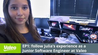 Discover Lucia's job, Software Engineer @Valeo - Episode 1