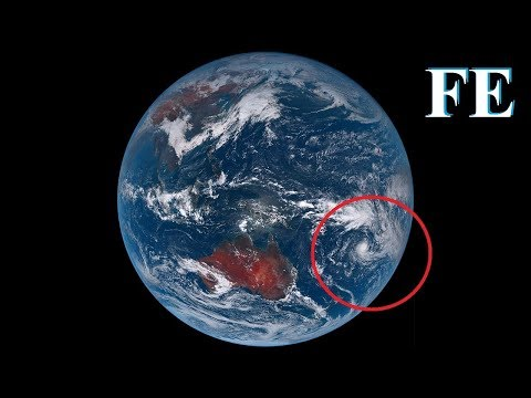 Flat Earth & faking space with the Himawari satellite - mirror from Paul on the plane ✅ thumbnail