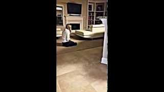 Wiener Dog Funny Chase With Woman Barking At Dog!