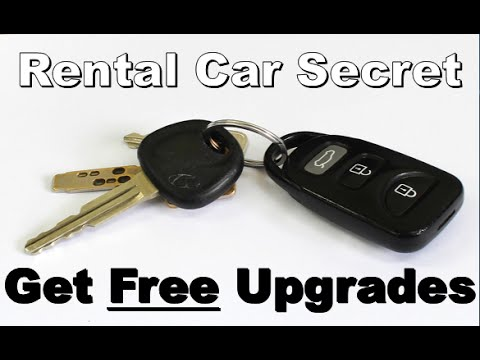 Get a Free Rental Car Upgrade Everytime