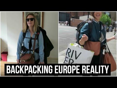 BACKPACKING EUROPE REALITY   TRAVEL VLOG