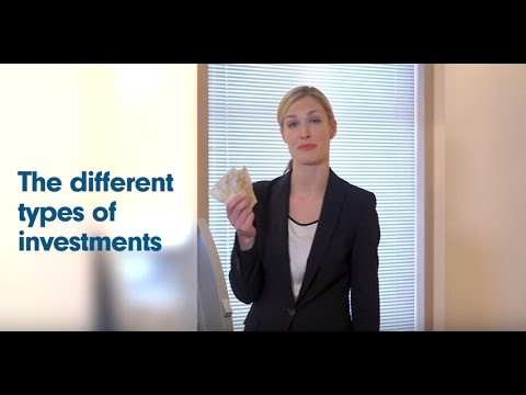 Learn about different types of investments