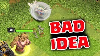 CHALLENGE ME #1, KING WALK IS A BAD IDEA, Clash of Clans India