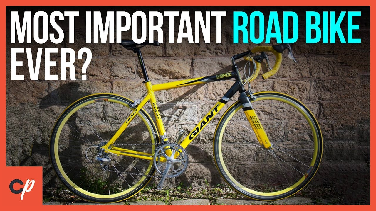 Is The Giant TCR The Most IMPORTANT Road Bike Ever? - YouTube