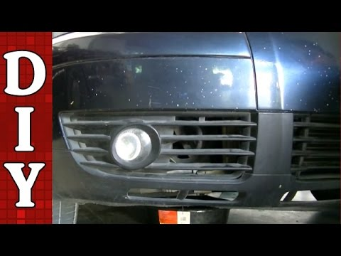2009 Vw Cc Wiring Diagram How To Remove And Replace A Fog Light And Bulb Vw Passat