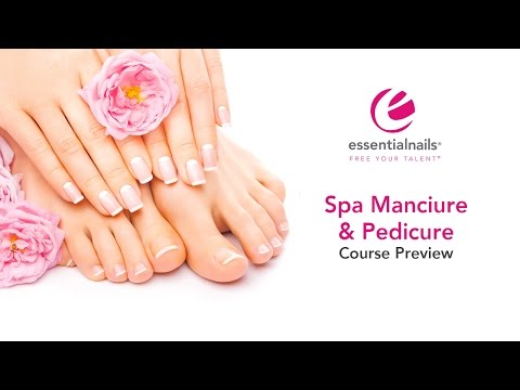 Spa Manicure and Pedicure Course Preview